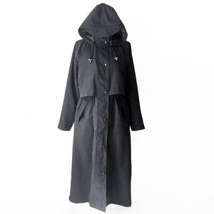 L.L. BEAN minimalist oversize vintage raincoat m l
